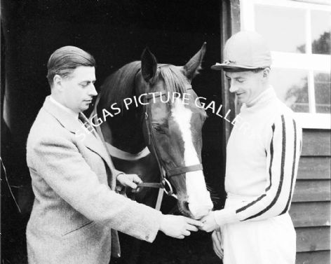 Racehorse Four Ten with Jockey T Cusack
